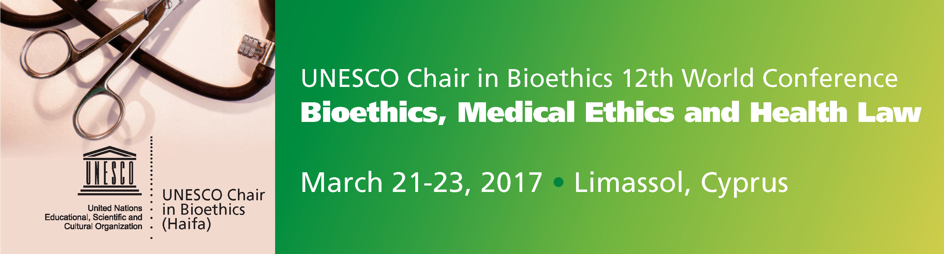 12th World Conference on Bioethics, Medical Ethics & Health Law – 2017